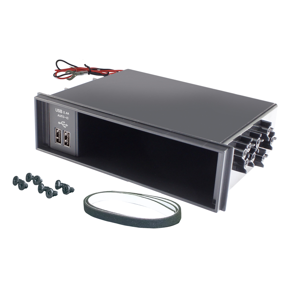DIN BOX USB電源 2.4A