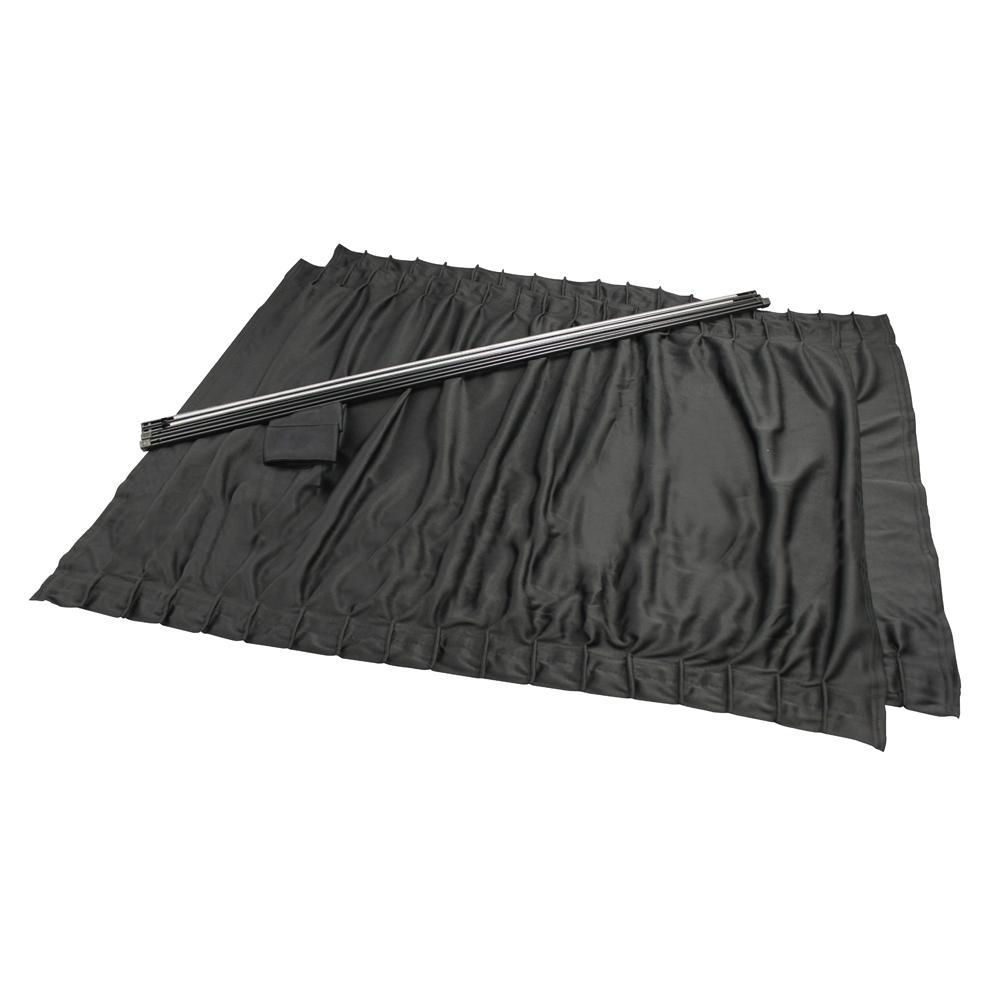 サイドカーテン ストレッチワイド2 BK L