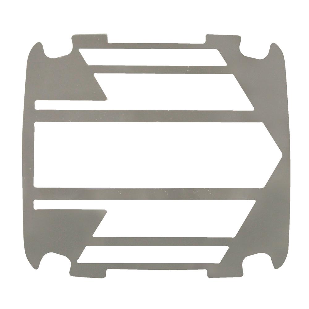 光影テール飾り板 矢印型